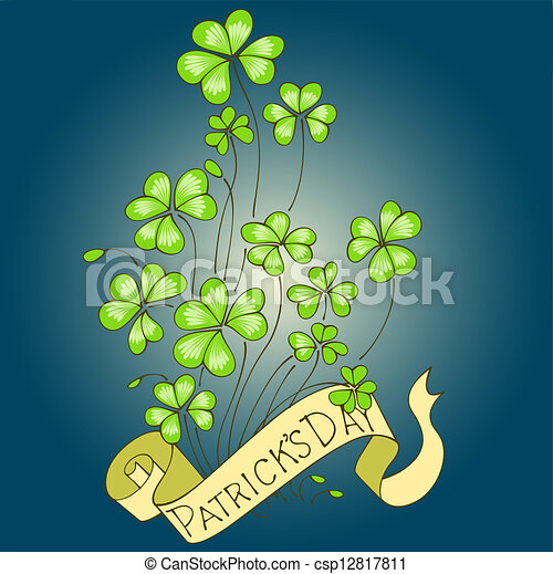 St. Patrick's Day background. - csp12817811