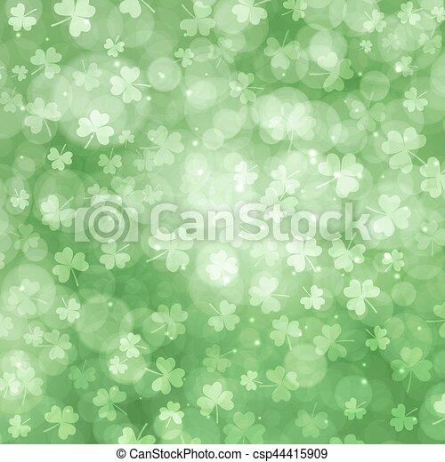 St Patricks day background - csp44415909