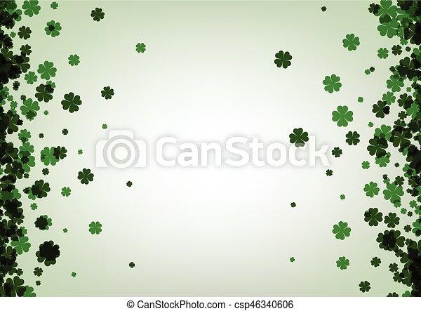 St. Patrick's day background. - csp46340606