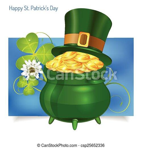 St. Patrick's Day Banner - csp25652336