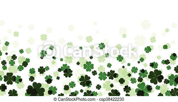 St. Patrick's day banner. - csp38422230