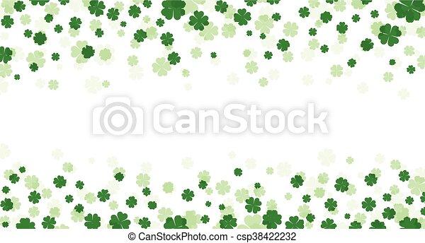 St. Patrick's day banner. - csp38422232