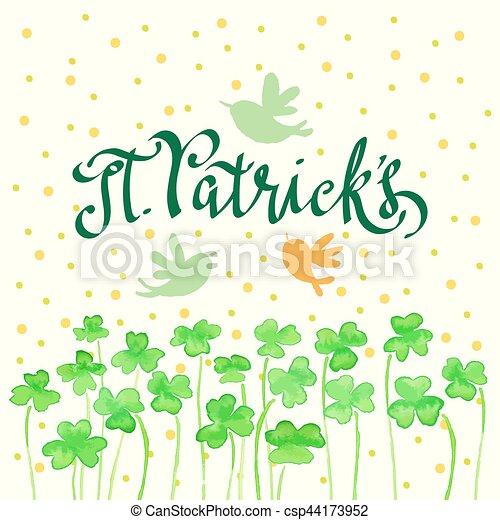 St Patricks day - csp44173952