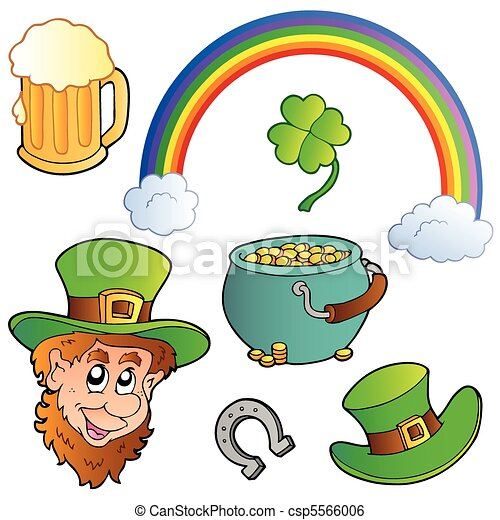 St Patricks day collection 3 - csp5566006
