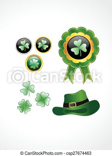 St. Patrick's Day elements - csp27674463