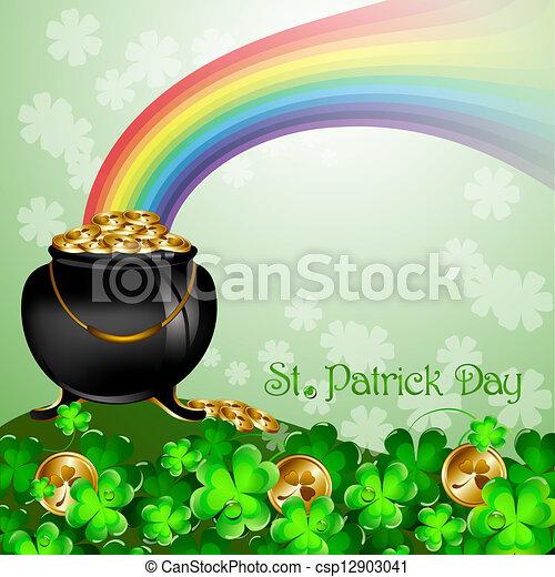 St Patrick's Day - csp12903041