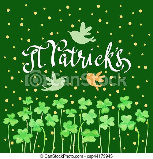 St Patricks day - csp44173945