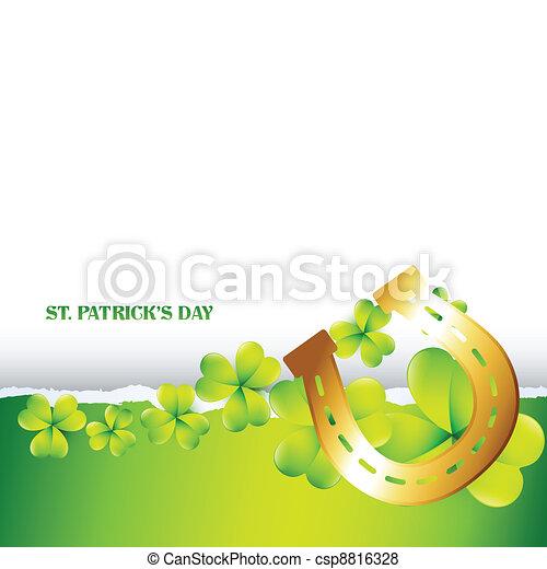st patrick's day - csp8816328