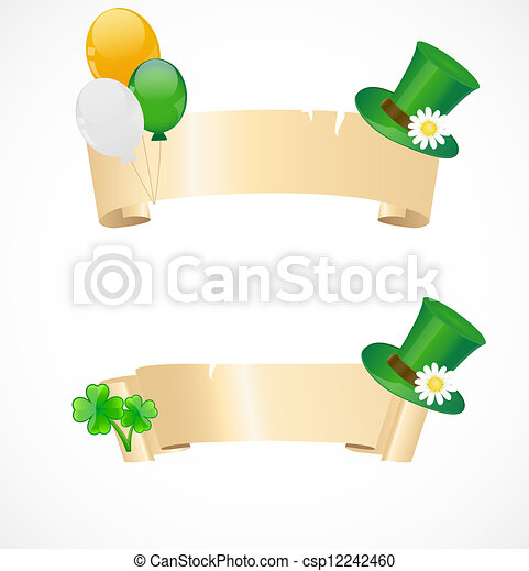 St. Patrick's day frames - csp12242460