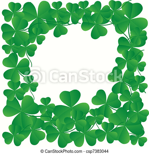 St. Patrick's day greeting card - csp7383044