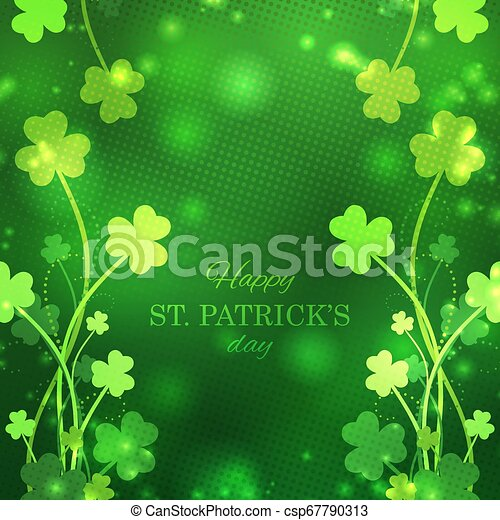 St Patrick's Day greeting card - csp67790313