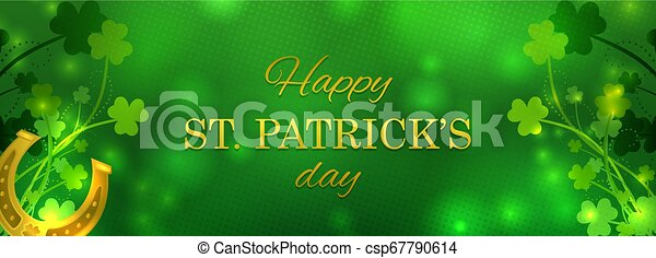 St Patrick's Day greeting card - csp67790614
