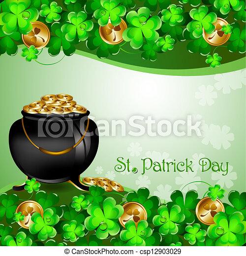St Patrick's Day - csp12903029