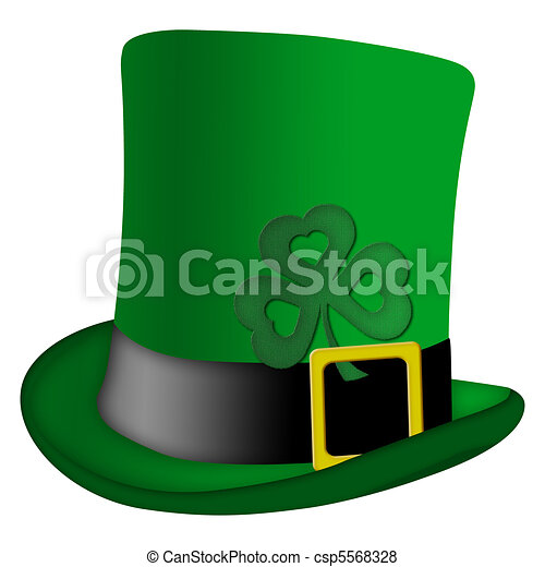 St Patricks Day Leprechaun Irish Hat - csp5568328