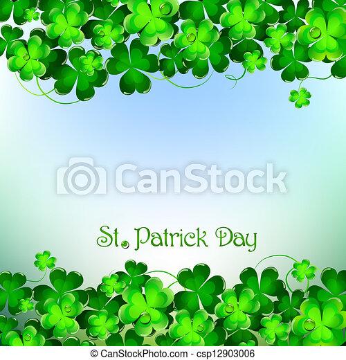 St Patrick's Day - csp12903006