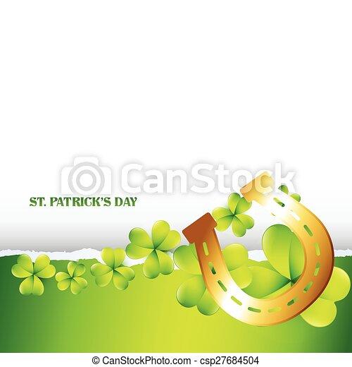 st patrick's day - csp27684504