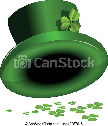 St. Patrick's hat - csp12257618