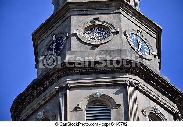 St. Philips Episcopal Church Clocks - csp18465782