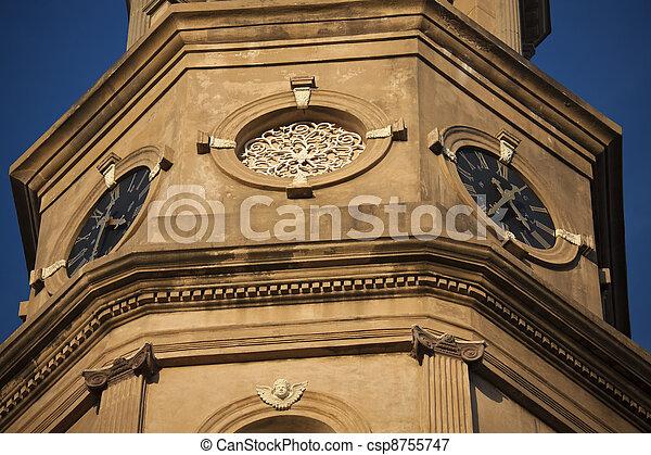 St. Philip's Episcopal Church in Charleston, SC. - csp8755747