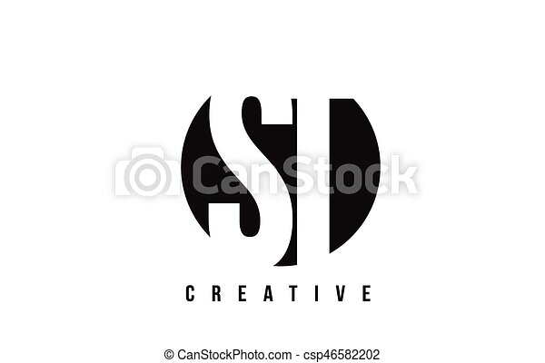 St S T White Letter Logo Design With Circle Background