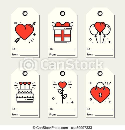photograph relating to Valentine's Day Tags Printable titled St Valentines working day reward tags. Printable tags range. Get pleasure from, passionate, marriage concept. Holiday vacation label.