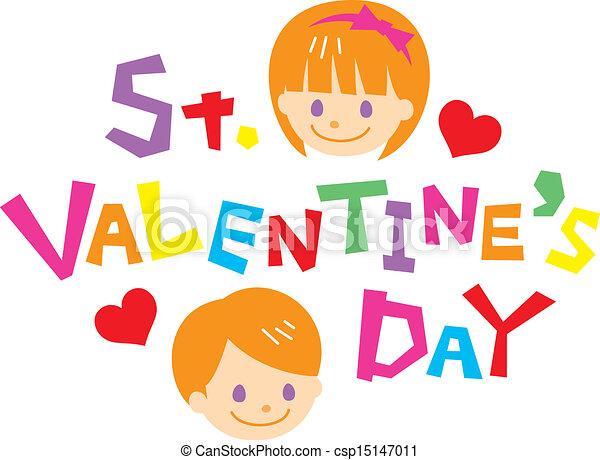 st valentines day vector - San Valentines Day