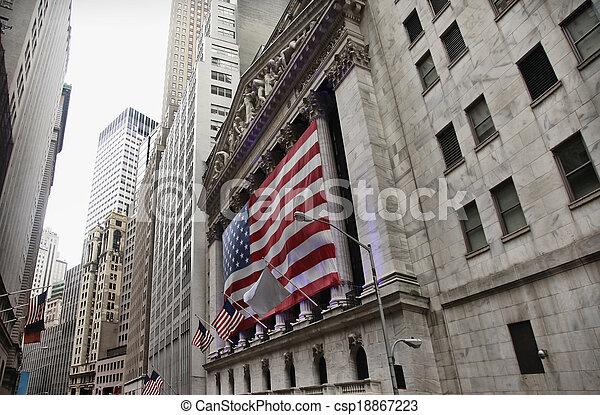 staaten, fahne, vereint, amerika - csp18867223