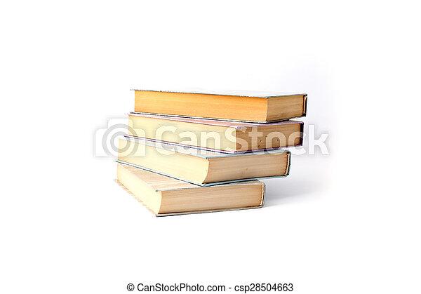 Stack of books - csp28504663