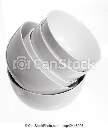 Stack of Bowls - csp42448906