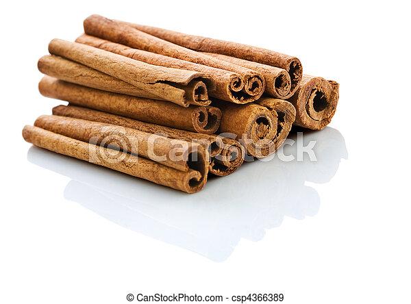 stack of cinnamon - csp4366389