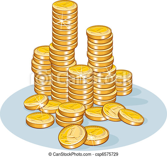 Stack of Coins - csp6575729