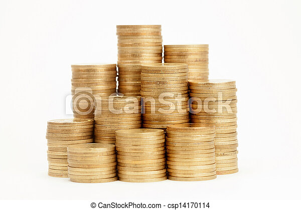 Stack of Coins - csp14170114
