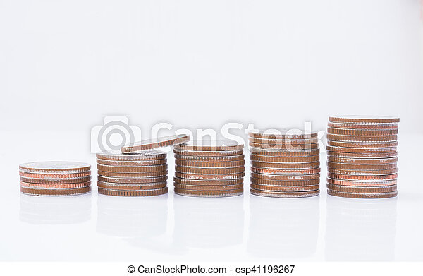 Stack of coins - csp41196267