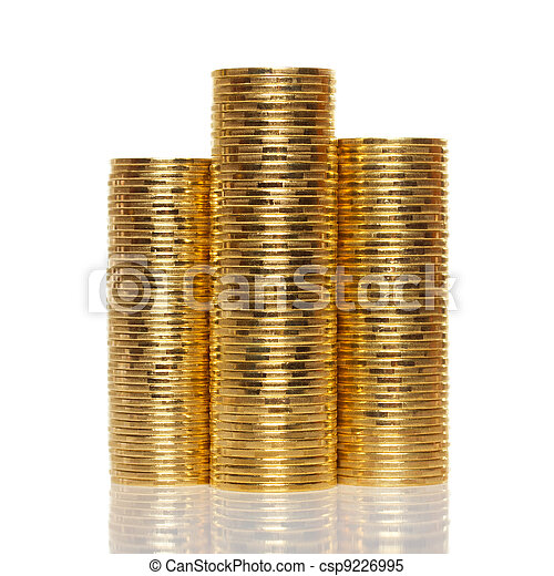 Stack of coins - csp9226995