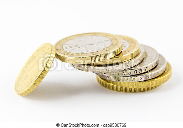 Stack of coins - csp9530769