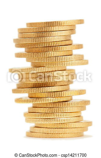 Stack of Coins - csp14211700