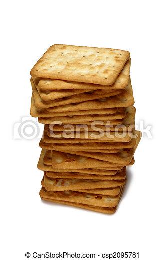 stack of cookies - csp2095781