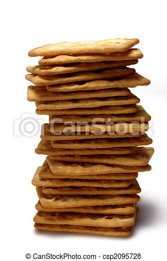 stack of cookies - csp2095728