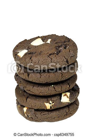 Stack of Cookies - csp6349755