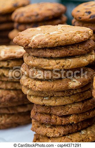 Stack of Cookies - csp44371291