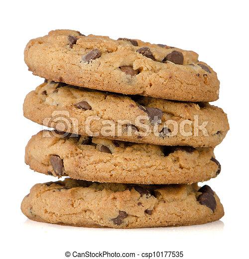 Stack of cookies - csp10177535