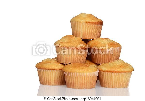 Stack of cupcakes - csp16044001