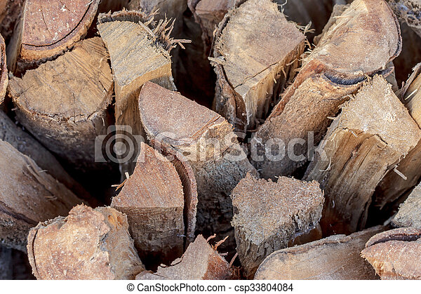 stack of firewood - csp33804084