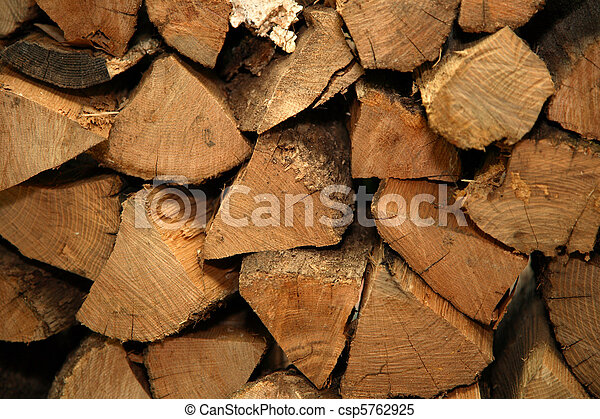Stack of firewood - csp5762925