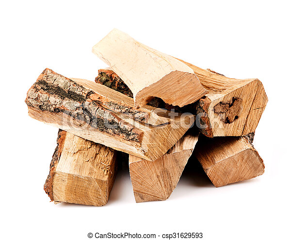 stack of firewood  - csp31629593