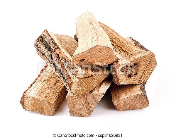 stack of firewood  - csp31626931