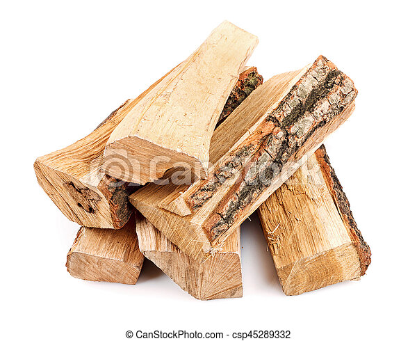 stack of firewood - csp45289332