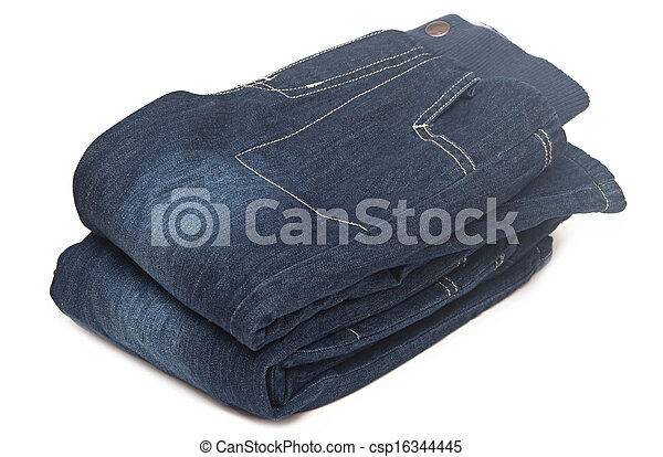 Stack of jeans - csp16344445