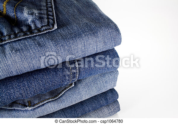 stack of jeans - csp1064780