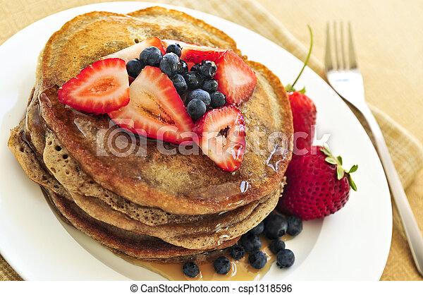 Stack of pancakes - csp1318596